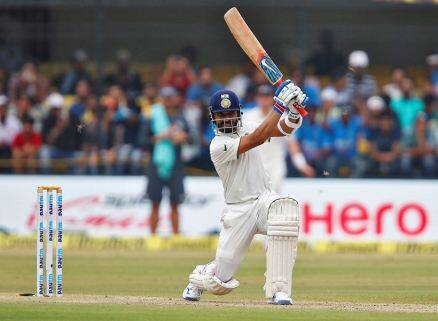Rahane, Ajinkya Rahane, india vs new zealand, ind vs nz, ind vs nz 3rd test, ind vs nz indore, ind vs nz 3rd test photos, ind vs nz test photos, India cricket, cricket photos, cricket newws, cricket