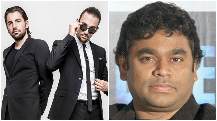 Dimitri Vegas, Like Mike, a r rahman, a r rahman news, a r rahman songs, a r rahman new songs, entertainment news, indian express, indian news express