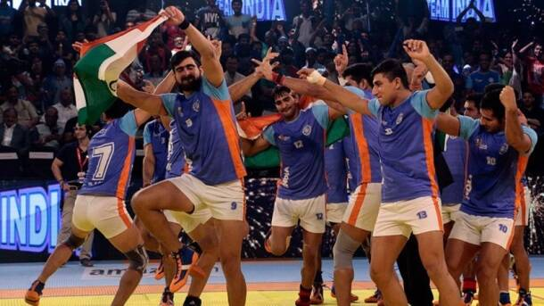 Rahul Chaudhari, India vs Iran, india vs Iran final, India vs Iran final photos, India Iran photos, India Kabaddi World Cup 2016, Kabaddi World Cup 2016, Kbaddi World Cup final photos, Kabaddi final photos, kabaddi photos, Kabaddi