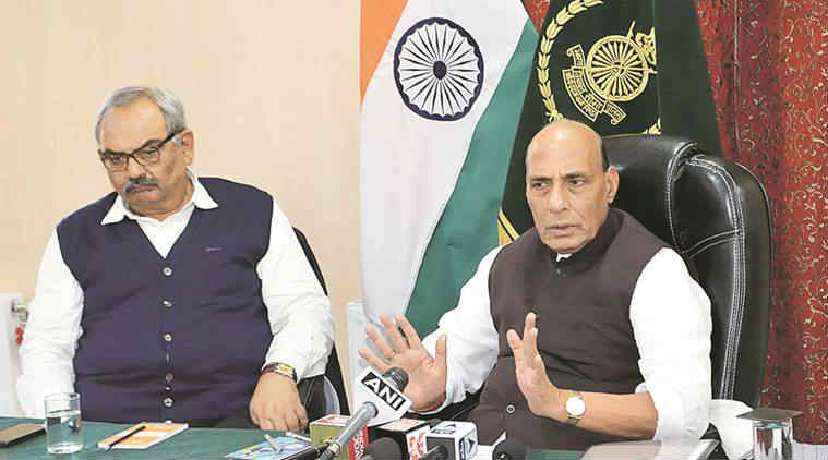 Rajnath Singh, idnia pakistan, india pakistan border, indo pak border, india pakistan loc, indo pak loc, Baramulla attack, pakistan terror camps, india terrorism, pakistan terrorism, india news