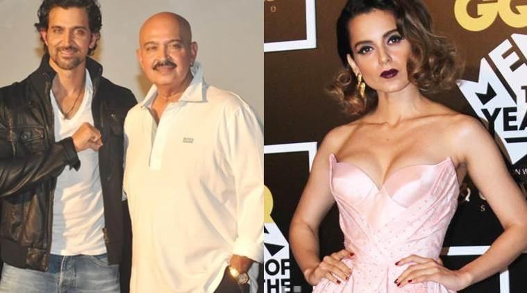 Rakesh Roshan claims Kangana Ranaut is spreading lies.