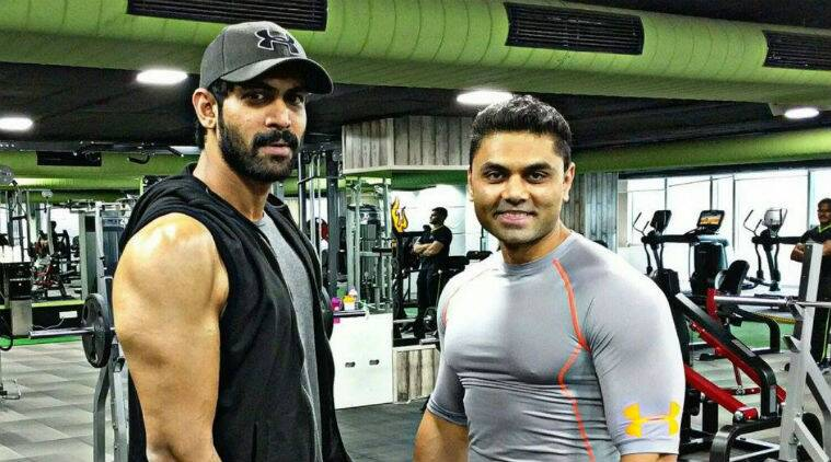Tollywood hunk Rana Daggubati took the Twitter by storm on Tuesday by tweeting a shirtless picture of himself showing off his toned physique.