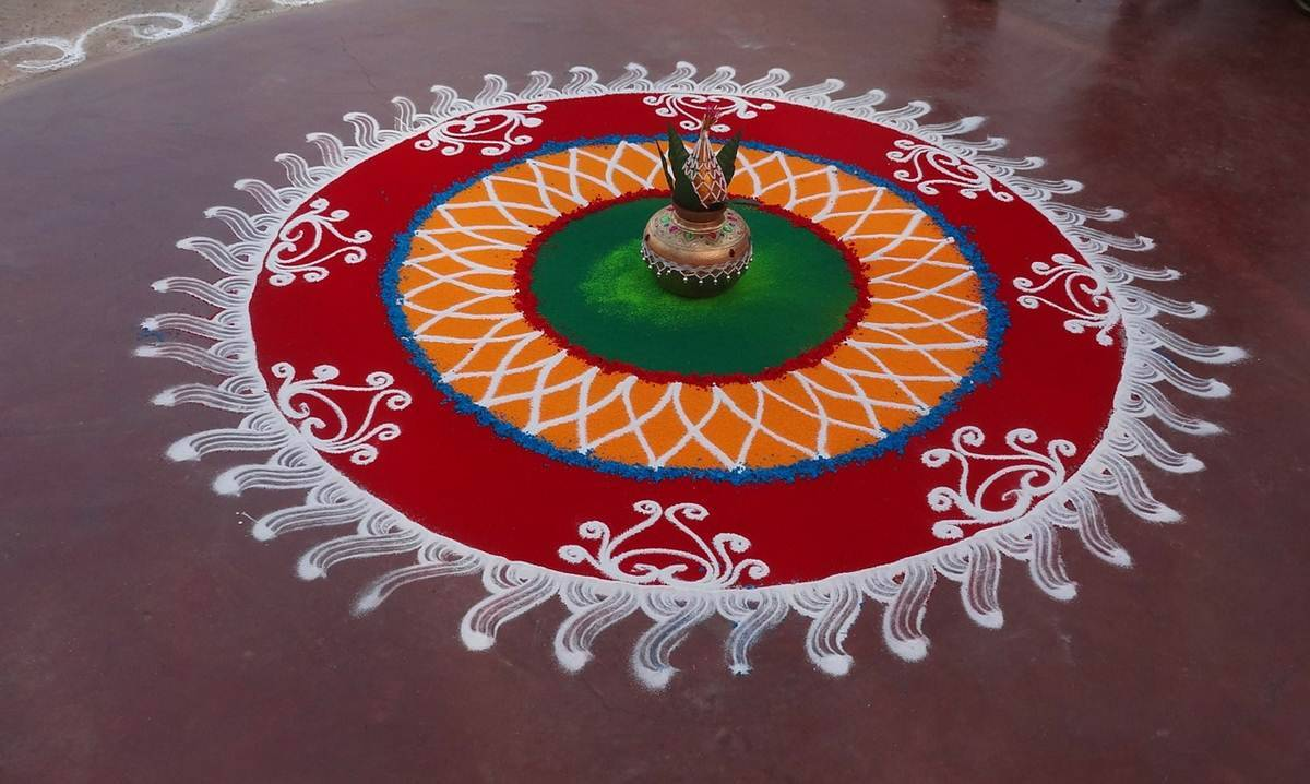 Happy Diwali Rangoli 2016: Designs, Images, Pictures, Photos | Lifestyle  News,The Indian Express
