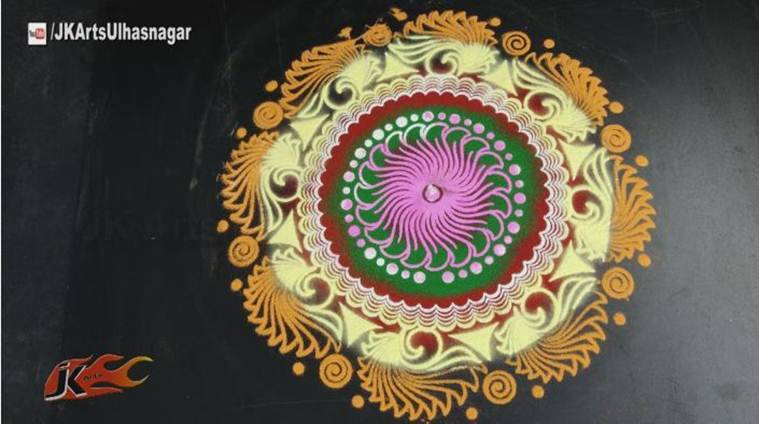 Diwali, Diwali 2016, Diwali puja, rangoli design, diwali rangoli, rangoli pictures, diwali rangoli designs, diwali rangoli design with dots, diwali rangoli designs with flowers, diwali rangoli pic, diwali rangoli designs 2016, best diwali rangoli designs, best diwali rangoli, best diwali rangoli designs 2016, free hand rangoli design, easy diwali rangoli designs, rangoli design for diwali, simple rangoli design, simple rangoli designs, simple rangoli designs with flowers, Diwali, rangoli, happy diwali, diwali 2016, diwali rangoli, rangoli design, rangoli pattern, rangoli photos, rangoli significance, diwali rangoli designs, diwali photos, 2016 diwali photos, lifestyle news, latest news, indian express