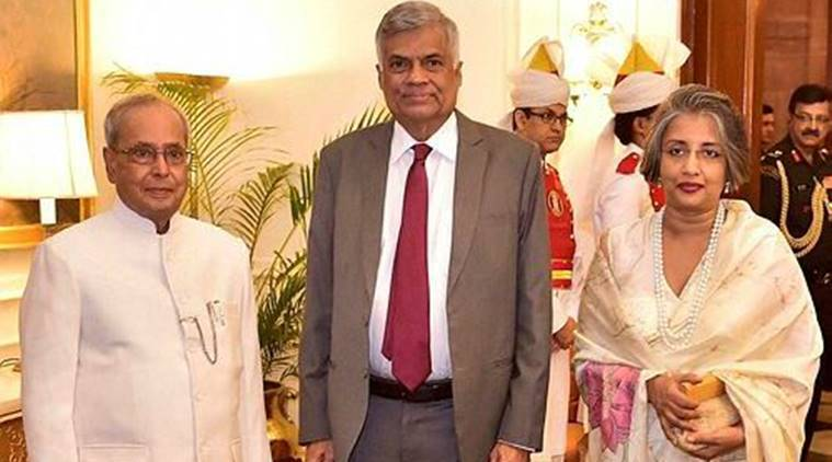 sri lanka, sri lanka pm ranil wickremesinghe, india, china, india china sri lanka, india sri lanka, india china, saarc, indian economy, world economy forum, india news, indian express