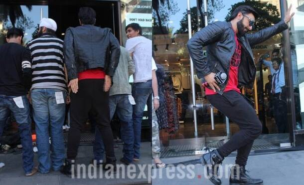 ranveer singh, ranveer singh jack n jones, ranveer singh strip, ranveer singh fan strip, ranveer singh mumbai, ranveer singh films, ranveer singh news, bollywood news, indian express, indian express news, entertainment