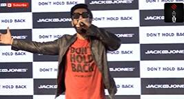 Ranveer Singh Raps For A Fashion Brand
