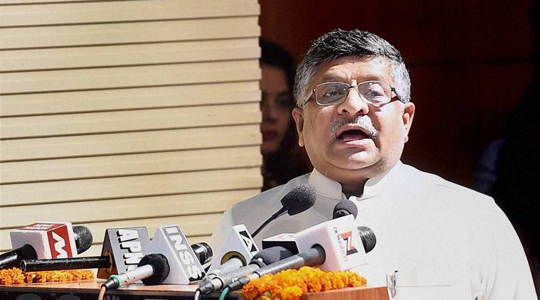 Ravi Shankar Prasad, Prasad, ravi prasad Digital India, Digital India, Digital India BJP, latest news, latest india news