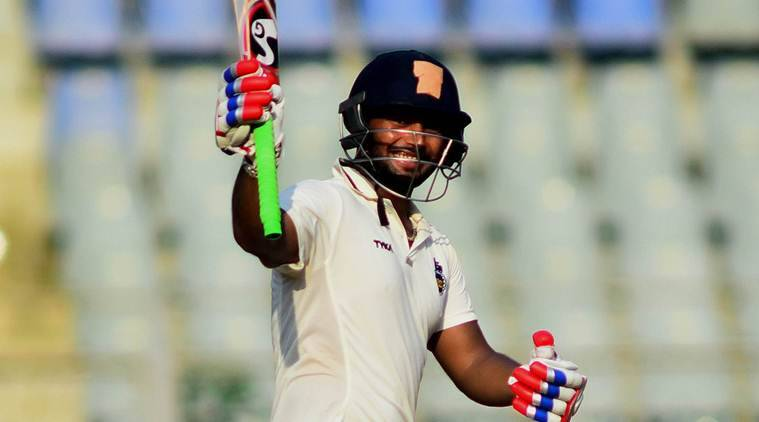 Rishabh Pant, Rishabh Pant Delhi,Rishabh Panthundred,Rishabh Pant record, V B Chandrasekhar, First Class cricket, Cricket news, Cricket