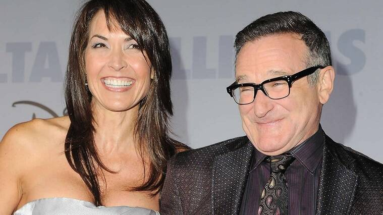 robin williams, Susan Schneider, Susan Schneider robin williams, robin william Susan Schneider, susan robin, robin susan, robin williams latest news, robin williams latest updates, Susan Schneider latest news, Susan Schneider latest updates, entertainment news, indian express, indian express news