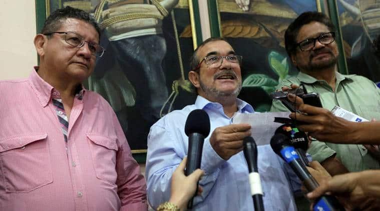 Colombia peace referendum, peace referendum, Colombia president, Colombia FARC, Marxist FARC guerrillas, Colombia government, Revolutionary Armed Forces of Colombia, Cuba, Juan Manuel Santos, Rodrigo Londono, World news