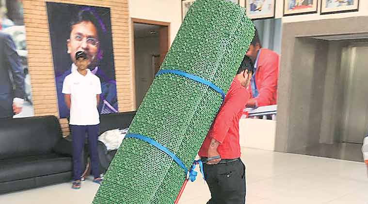 Rajasthan Cricket Association, mobile pitches, RCA imported synthetic roll-out pitches, synthetic roll-out pitches, roll-out pitches, sports news, cricket news