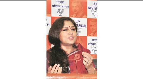 Bangla PM said youths in border areas being funded for terror acts in Bengal: BJP leader Roopa Ganguly