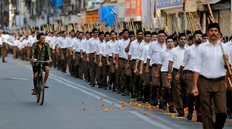 RSS, rss workers, rss bjp link, rss up, uttar pradesh elections 2017, uttar pradesh 2017 elections, up polls, up polls 2017, uttar pradesh 2017 polls, up news, india news, indian express news, latest news