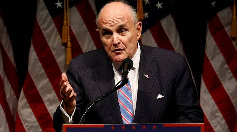 Donald Trump lawyer Rudy Giuliani says Iran's government will be overthrown
