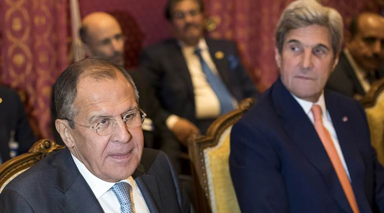 russia, russia talks syria, russia syria, russian airstrikes in syria, russia us meeting on syria, syria war, syria conflict solution, syria solution, syria news, world news, indian express news