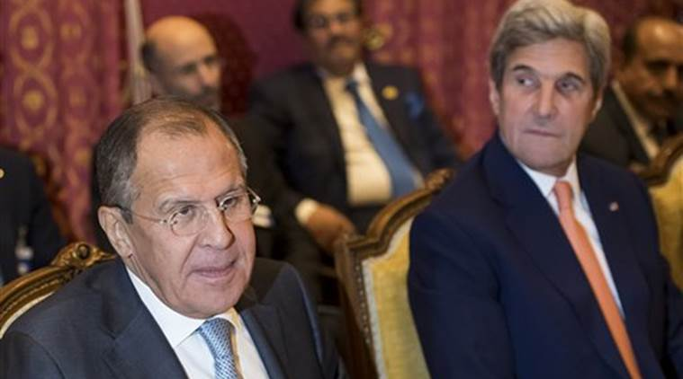Russia, syria, Sergei Lavrov, John Kerry, Syria moderate opposition, Jabhat Fatah al Sham, Nusra Front, syria ceasefire, Russia-US, world news, indian express