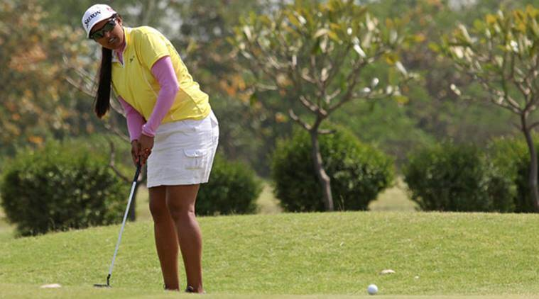 Saaniya Sharma Neha Tripathi, Saaniya Sharma Neha Tripathi Sanya ladies open, Sanya ladies open, sanya ladies open China, Golf, golf news, sports, sports news