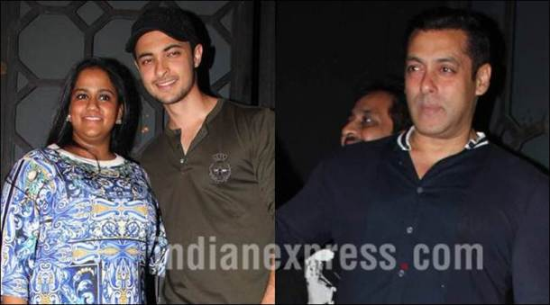 Salman Khan, Aayush Sharma's birthday, Aayush Sharma's birthday parrty, arpita khan