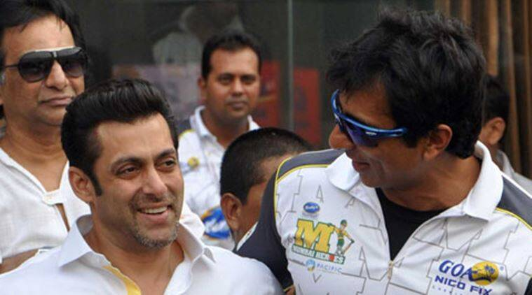 Salman Khan wished Sonu Sood good luck for his first production film, Tutak Tutak Tutiya.