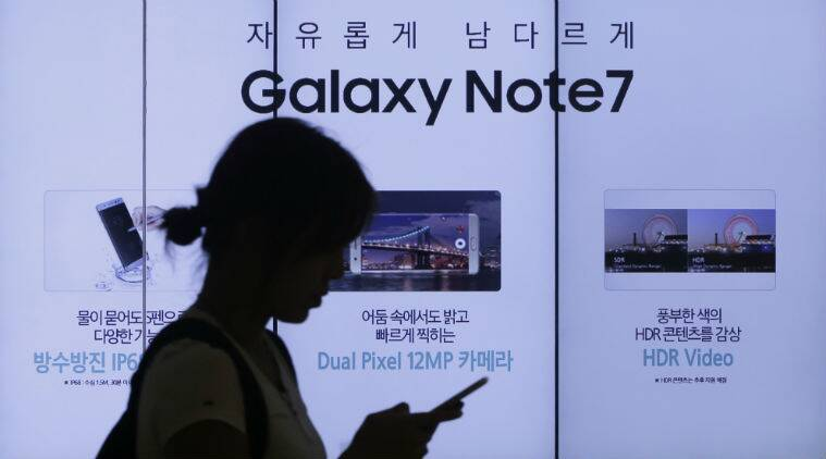 samsung, samsung phones, samsung phone fire, fire in samsung phones, samsung phone recall, phone recall samsung, samsung production, tech news, indian express, techie,