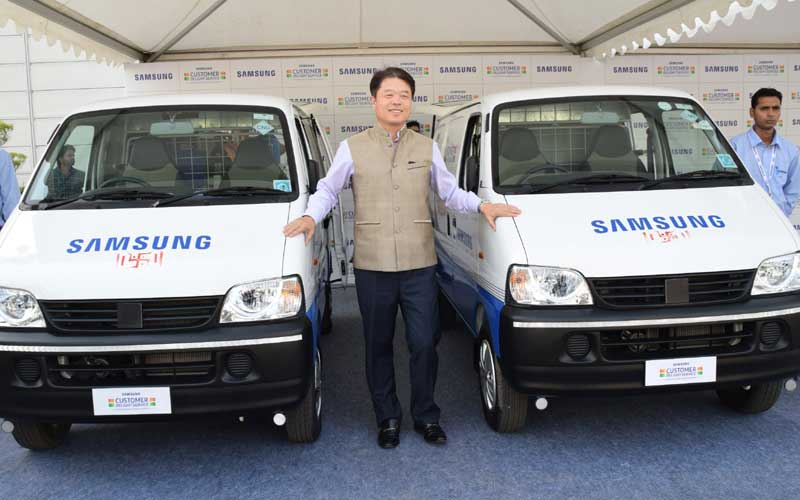 Samsung, Samsung Servicing Vans, Samsung Vans, Samsung Service, Samsung After Sales service, Samsung Galaxy Note 7, Galaxy Note 7, Samsung Note 7, Galaxy Note 7, technology, technology news