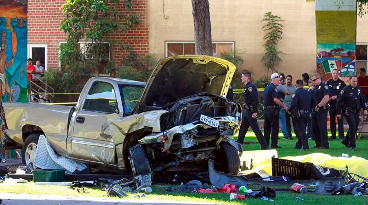 san diego truck, truck crash, us track crash, san diego truck crash, san diego bridge, california bridge, california truck crash, world news