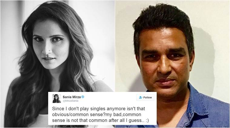 Twitterati weigh in on the Sanjay Manjrekar-Sania Mirza sarcastic