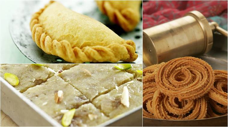 Diwali recipes 4 special dishes from chef sanjeev kapoor the diwali recipes snack recipes indian recipes bhajani chakli recipe burfi recipe forumfinder Images