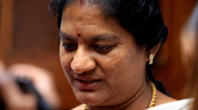 Sasikala Pushpa, Tirunelveli, Nadar Makkal Sakthi, Tamil Nadu, news, latest news, India news, national news, Tamil Nadu news
