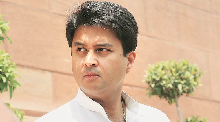 jyotiraditya scindia, scindia, scindia evm, scindia evm tampering, evm tampering, electronic voting machine, congress evm, evm news, latest news, indian express