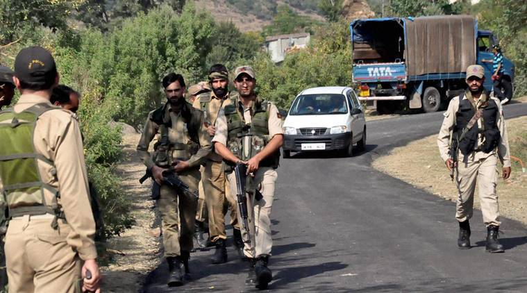 Jammu and kashmir, Cips in weapons, Jammu nad kashmir police, Police fire arms, S P Vaid, Hizbul Mujahideen terror group, AK-47 assault rifles,, latest news, India news