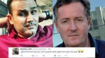 Virender Sehwag and Piers Morgan's latest 'kabaddi match' has Twitterati cheering