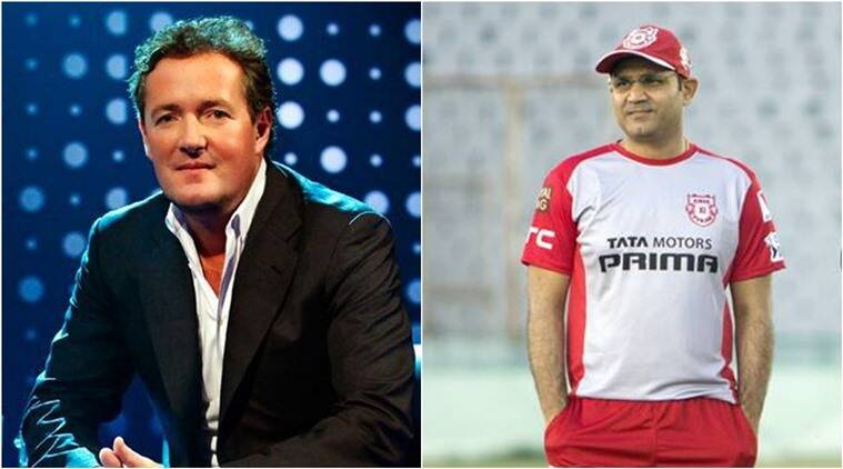 Piers Morgan gets trolled for correcting Virender Sehwag