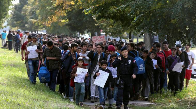 Serbia, Serbia migrants, migrants from serbia, hungary, hungary boarders, EU, EU hungary, latest news, latest world news