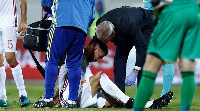 sergio ramos, real madrid, madrid, spain, real, sergio ramos injury, ramos injury, ramos spain, ramos madrid, football news, sports news