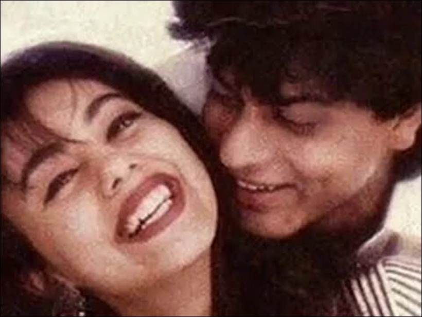 Image result for srk gauri old