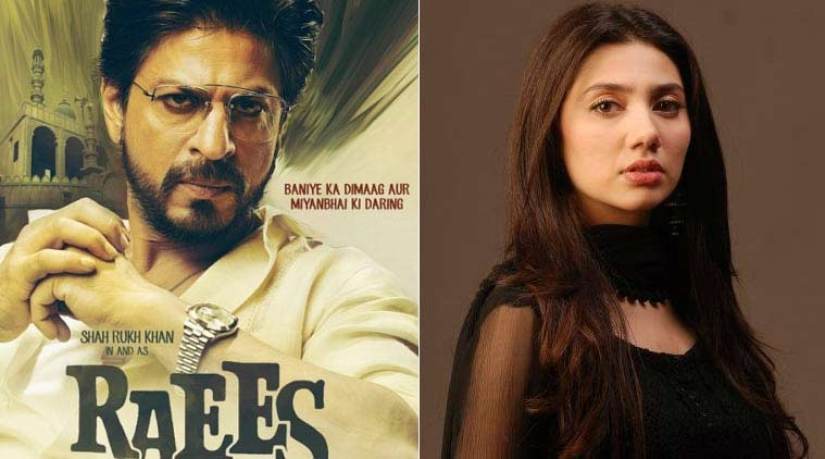 Raees, Shah Rukh Khan, Raees release date, Raees movie, mahira khan, mahira khan Raees, pakistani actors ban