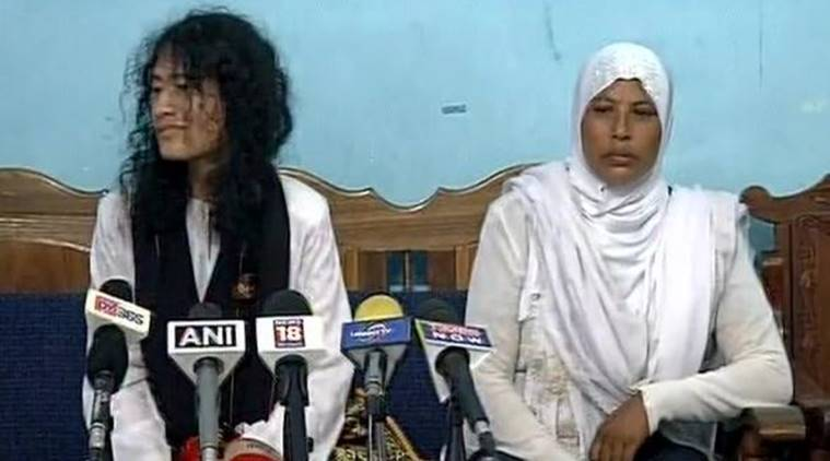 irom sharmila, irom sharmila political party, Irom Sharmila People's Resurgence Justice Alliance, Manipur polls, Irom Sharmila Manipur, AFSPA, repeal AFSPA, Manipur polls 2017, india news