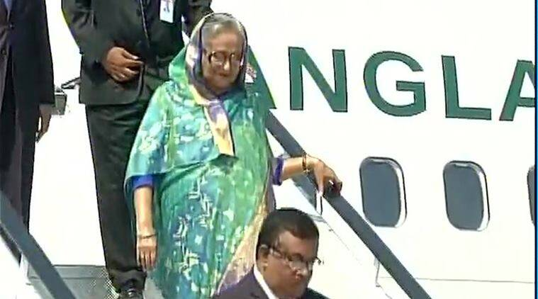bangladesh, sheikha hasina, sheikh hasina india, bangladesh honours indian soldiers, bangladesh war, india in bangladesh war, india news, indian express news, latest news