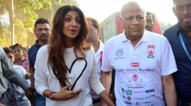 Shilpa Shetty, Shilpa Shetty father, Surendra shetty, Shilpa Shetty father dies, shilpa father death, Shilpa Shetty movies, Shilpa Shetty news, Shilpa Shetty shows, entertainment news, indian express, indian express news
