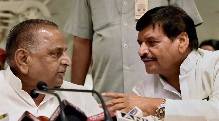 Shivpal Yadav, Akhilesh yadav, Mulayam singh yadav, Samajwadi party, Uttar Pradesh Elections, UP elections, Uttar pradesh elections, India news, Indian express news
