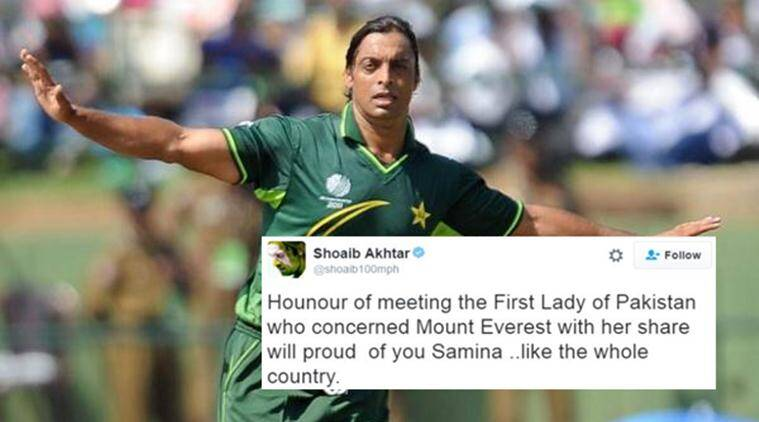 shoaib akhtar, pakistan, shoaib akhtar english tweet, shoaib akhtar funny english tweet, shoaib akhtar english tweet trolling, pakistan shoaib akhtar trolling, cricket news, sports news, latest news, indian express