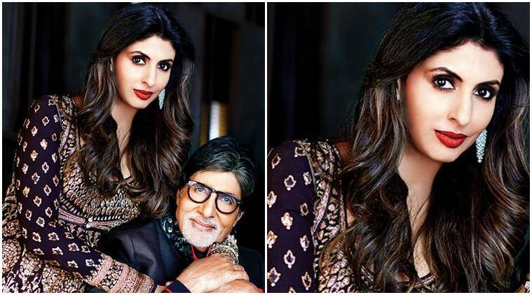 Amitabh Bachchan, Shweta Bachchan, Shweta Bachchan news, Shweta Bachchan father, Amitabh Bachchan, Amitabh Bachchan daughter, Amitabh Bachchan news, Amitabh shweta bachchan, entertainment news, indian express, indian express news