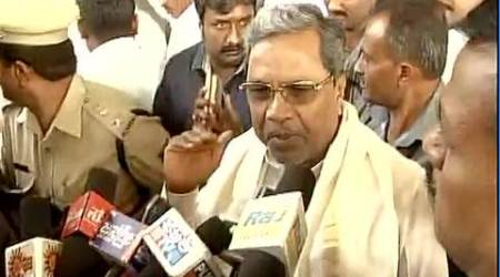 BJP, Karnataka CM Siddaramaiah clash over minister accused of watching sleaze on phone
