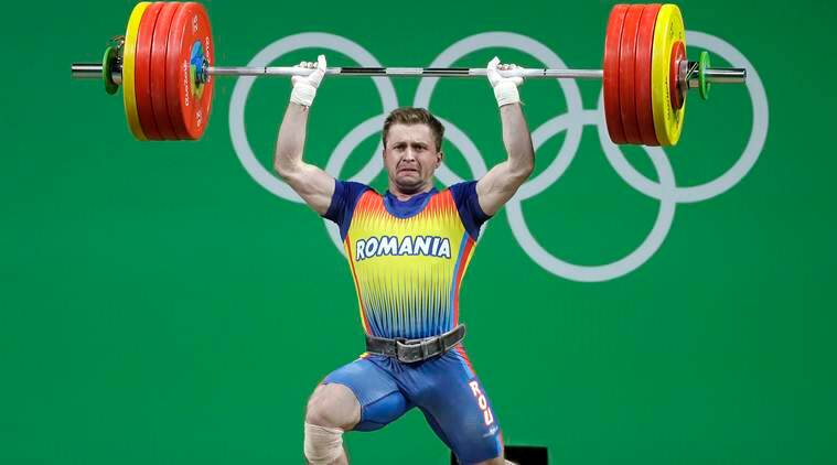 weightlifting, olympics weightlifting, rio olympics weightlifting, Gabriel Sincraian, romania weightlifting, rio olympics, sports