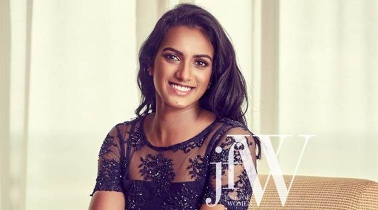 P V Sindhu at her glamorous best. (Source: JFW magazine)