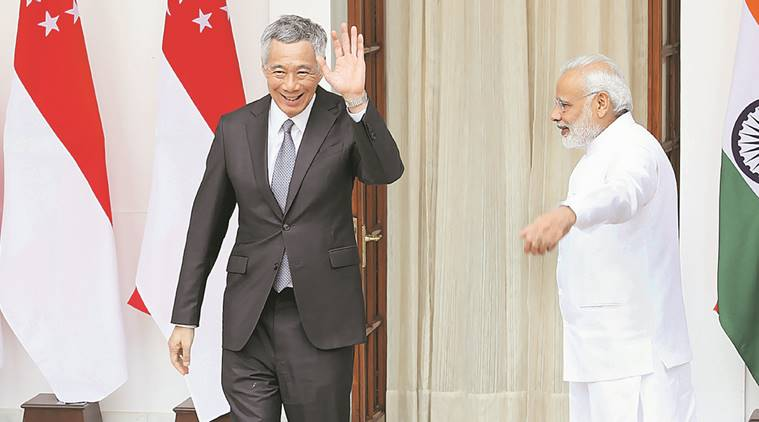 singapore india, Lee Hsien Loong, Narendra Modi, modi, india singapore, india singapore trade, india terrorism, terrorism, india news