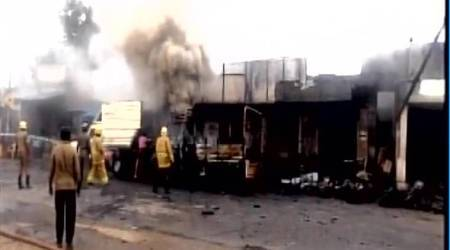 Tamil Nadu: Four dead, 4 injured in explosions at two fireworks manufacturingunits