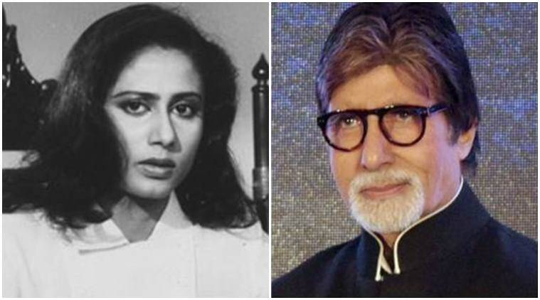 Amitabh Bachchan, Amitabh Bachchan news, Amitabh Bachchan actor, Amitabh Bachchan movies, smita patil, smita patil birth anniversary, amitabh smita, smita amitabh, entertainment news, indian express, indian express news